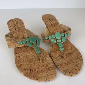 Touch of Nina | Embellished Stone Sandal